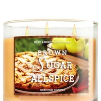 3-Wick Candle Brown Sugar Allspice
