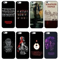 Stranger Things Soft Phone Case For iPhone X 8 8Plus Christmas Lights Back Cover for iPhone 5 5S SE 6 6S Plus 7 7Plus Cases Capa