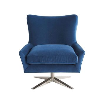 Alchemy Living Eve Accent Chair - Blue