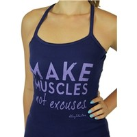 Make Muscles Not Excuses Y-Tank