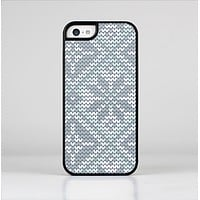 The Knitted Snowflake Fabric Pattern Skin-Sert Case for the Apple iPhone 5c
