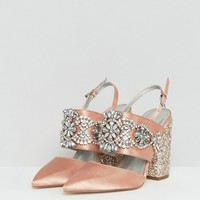 ASOS PERFECT COMBO Bridal Embellished Heels at asos.com