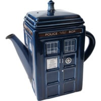 Doctor Who | TARDIS Teapot [FAULTY - NO LID]