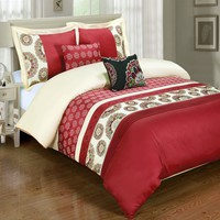 Chelsea Duvet Cover Set/Comforter set 100% Cotton