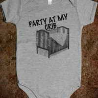 Party At My Crib - Kids - Tee Time Baby