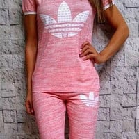 """Adidas"" Fashion Leisure Sports Set Two-piece"
