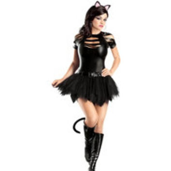 Adult Sexy Mean Kitty Costume- Party City