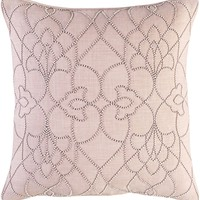 Dotted Pirouette Throw Pillow Brown, Purple