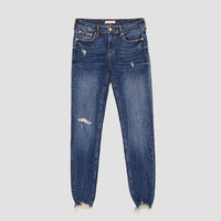 THE SKINNY IN ROSTOV BLUE - View all-JEANS-WOMAN | ZARA United States