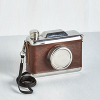 Quirky Delight, Camera, Action! Flask by ModCloth