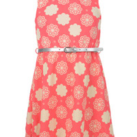 """Cookie's Kids > Colette Lilly Big Girls' """"Flower Song"""" Belted Dress (Sizes 7 – 16)"""