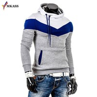 2017 Men Sweatshirts & Hoodies Male Tracksuit Hooded Jackets Fashion Casual Jackets Clothing For Men size M-3XL Tops