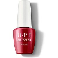 OPI GelColor - Red Hot Rio 0.5 oz - #GCA70