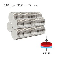 20pcs N50 12mm x 2mm Strong Round Magnets Neodymium Magnet Rare Earth Magnet Home Decorations