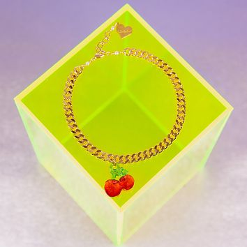Cherry Delight Anklet