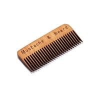 Wooden Whisker Combs