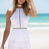 Buy Aria Lace Playsuit Online by SABO SKIRT