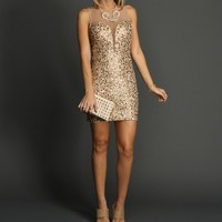 Sale-champagne Ultimate Sequin Dress