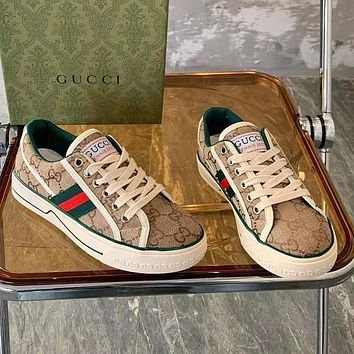 LV Louis vutitton GG Tennis 1977 Embroidered breathable casual sports shoes sneakers