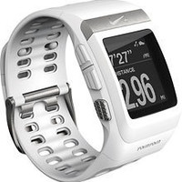 Nike+ - SportWatch GPS Powered by TomTom with Sensor - White/Silver