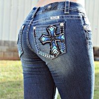 Amazing Grace Bootcut Jeans By Miss Me
