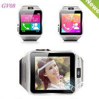 Smart Watch GV08 1.54 inch1.3M camera TF card slot and SIM card slot Bluetooth wrist watch for Android for iphone