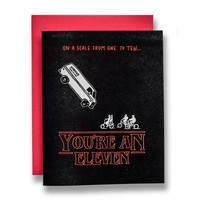 You're an Eleven Card