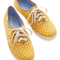 Keds Night Classics Sneaker in Yellow