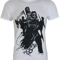 My Chemical Romance Exodus Men's White T-Shirt - Offical Band Merch - Buy Online at Grindstore.com