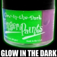 Cannalube Glow Finger Paints, 2 Ounce