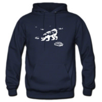 Honey Badger Zilla Hoodie