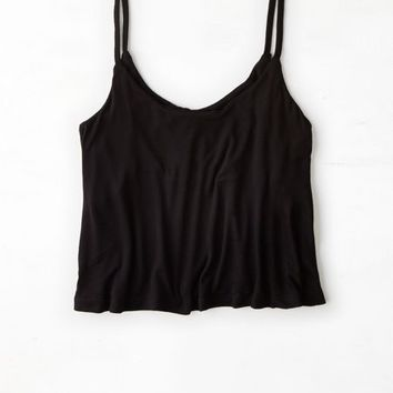 AEO Women's Don't Ask Why Cropped Swing Tank