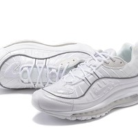 Nike Air Max 98 Retro air cushion jogging shoes