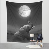 Bringing Light to the Darkness Wall Tapestry by Soaring Anchor Designs