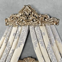 Vania Decorative Wall Teester Bed Crown