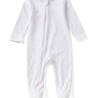 Egg by Susan Lazar Baby Girls Newborn-6 Months Carrot-Print Footed Coverall | Dillards