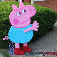 George Pig or Peppa pig pinatas...!