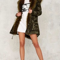 Glamorous March of the Damned Camo Parka