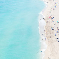 North Miami Beach III - Aerial Beach Photography