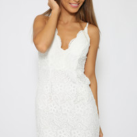 Clemence Dress - White