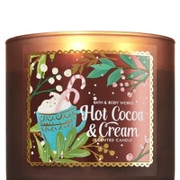 3-Wick Candle Hot Cocoa & Cream