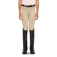 Ariat Heritage Knit Youth Breeches, Light Beige - 10009655