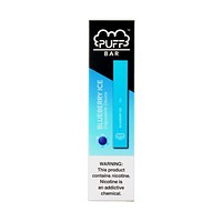 Puff Bar Disposable Pod Device Blueberry Ice