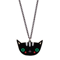 Doodllery Necklace - Kitty Cat   Little Moose   Cute bags, gifts, toys, jewellery and accessories from independent designers and famous brands