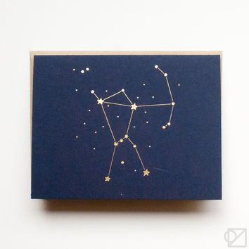 Constellation Orion Greeting Card
