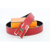 Hermes belt men's and women's casual casual style H letter fashion belt261