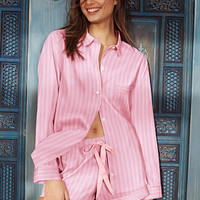 The Mayfair Boxer Pajama - Victoria's Secret