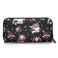 """""""Tattoo Flash Print"""" Wallet by Loungefly x Nightmare Before Christmas (Black)"""