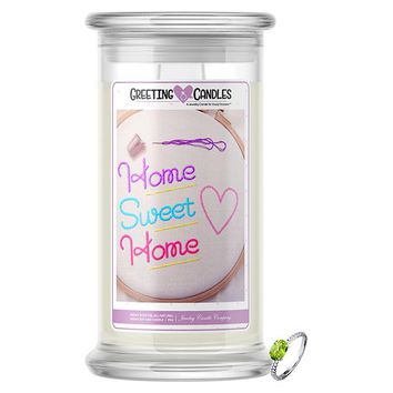 Home Sweet Home Jewelry Greeting Cards Candles