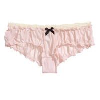 Microfiber Thong Briefs - from H&M